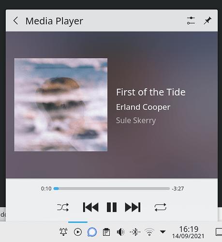 Media Player Applet